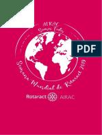 0. Propuesta Oficial Semana Mundial de Rotaract Airac 2019