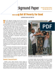 Getting Out of Poverty