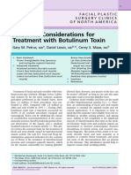 Anatomic Considerations for Treatment With Botulinum Toxin