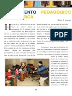 El Elemento Pedagógico de La Música