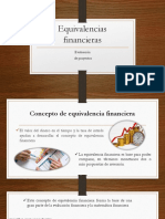 Equivalencias financieras