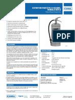Ficha Técnica Extintores TIPO K (2)