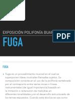 Exposición de Fuga