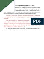 Análise de Discurso - Eni P. Orlandi