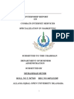 Comsats Internet Services by Muhammad Munir