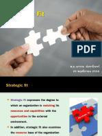Strategic fit