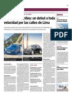 Bentley en Lima Gestion