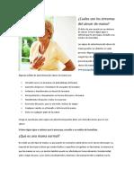 sintomas del cancer de mama