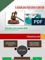 Aspek Hukum Dan Perundang-undangan Flebotomi