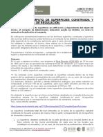 Cálculo y Cómputo de Superficies Construída y Útil. Normativa de Regulación (COAATM, 2016)