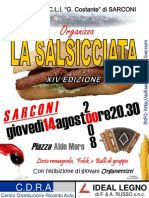 SARCONI - SALSICCIATA 14 AGOSTO 2008