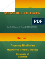 Measures of Data