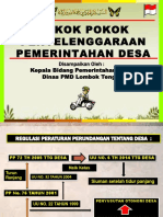 Materi Pelatihan Kepala Desa Kabid Pemdes (1)