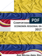 Comportamiento de La Economía Regional en 2017