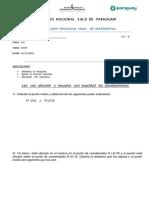 Evaluación Procesual Final de Matemática 1ro