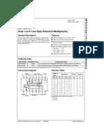 DM74LS153 Dual 1-Of-4 Line Data Selectors_Multiplexers