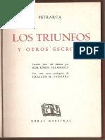Sonetos Petrarca (Selección)