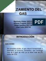 Endulzamiento Del Gas Natural 2006