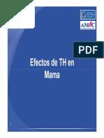 Efectos de TH en Mama
