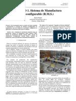Sistemas de manufactura reconfigurables