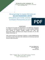 Doc BALCAN 19-0010-F Planta BALCAN Para Reciclar Lamparas