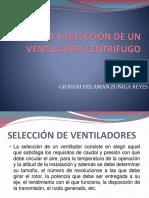 Cálculo y Selección de Un Ventilador Centrífugo
