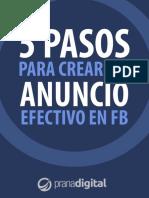 Pasos para crear anuncios en FB