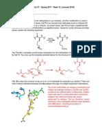 Chemistry Problem Set