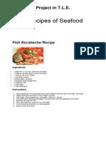 5 Soup & Seafood Recipes