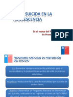 Conducta Suicida en Adolescencia