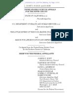 Opening Brief Federal Appellants