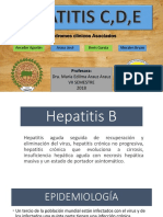Hepatitis B, C y D
