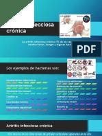 Artritis infecciosa crónica