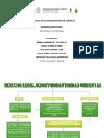 Derecho, Legislacion y Normatividad Ambiental