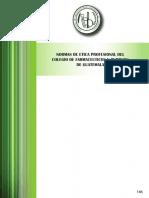 Normas de Etica Profesional