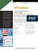 Tripwire Enterprise Commander Datasheet