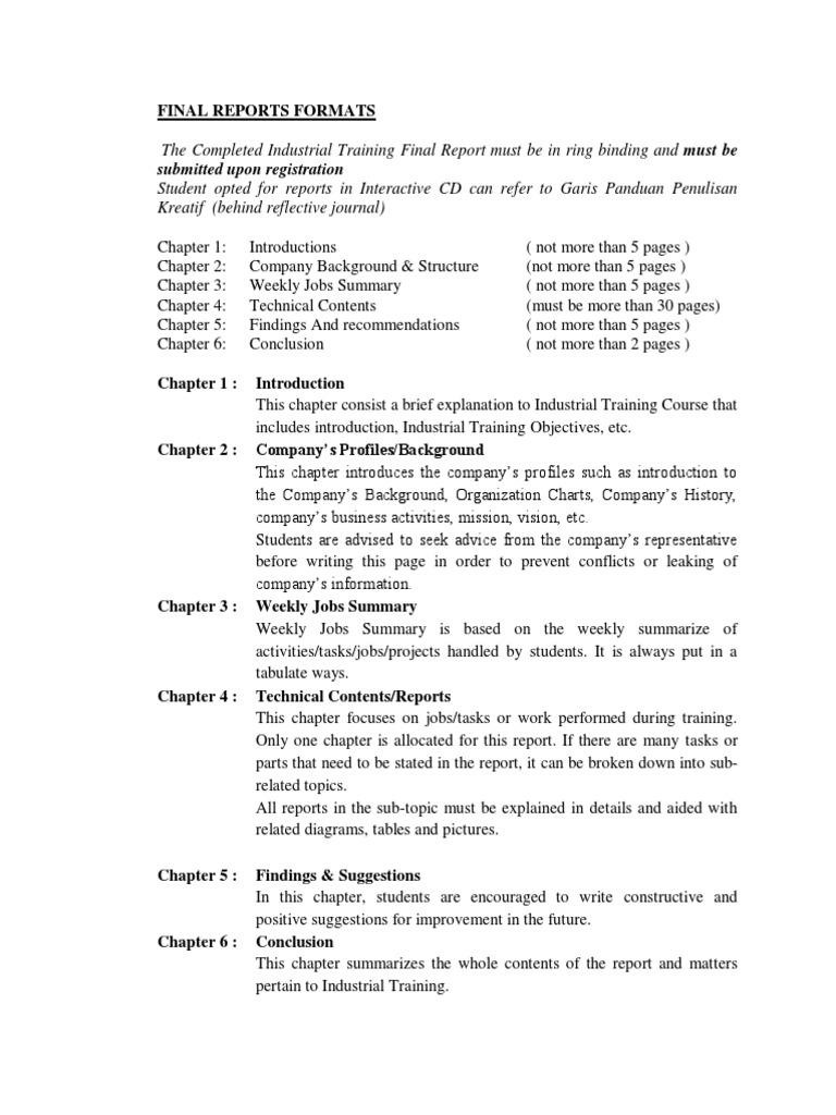 Format Contoh Laporan Akhir Li Pdf Internal Combustion Engine Motor Oil