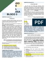 Gabarito Comentado Do Simulado 3 - Portugues - 2a Serie