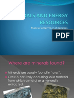 Minerals and Energy Resources  for class 10 ppt