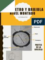 Longimetro y Brujula