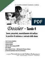 DOSSIER TAVOLO 4