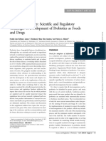 Development of Probioyic as Faood and Drugs