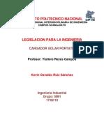 Proyecto Legislacion