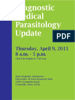 Diagnostic Medical Parasit Ology Brochure