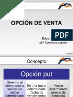 Opcion Venta