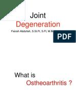 Joint Degenerative - Feb 2019.pptx