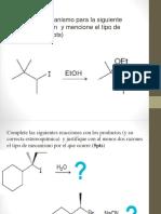 Clase 8 Reacciones de Alcoholes Grupos Funcionales