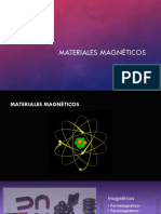 Materiales magnéticos