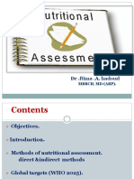 Nutritional Assessment Dr. Ftima 24