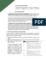 Resumen Clasificacion de Las Fracturas Expuestas